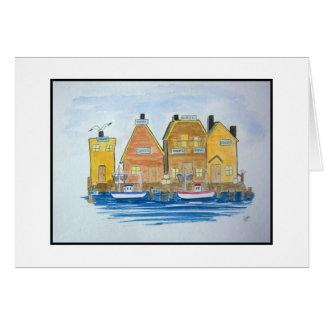 Fishing Village #3 Card