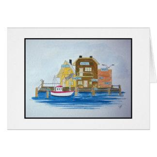 Fishing Village #4 Card