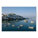 Fishing Village of Ferragudo, Algarve, Portugal 2 Card