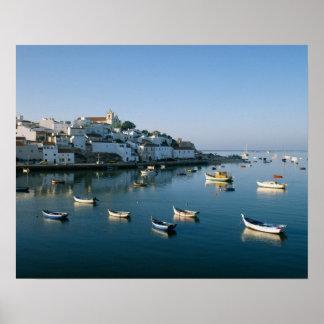 Fishing Village of Ferragudo, Algarve, Portugal 2 Poster