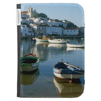 Fishing Village of Ferragudo, Algarve, Portugal Kindle 3G Cases