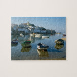 "Fishing Village of Ferragudo, Algarve, Portugal Jigsaw Puzzle<br><div class=""desc"">COPYRIGHT Paul Thompson / DanitaDelimont.com 