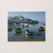 Fishing Village of Ferragudo, Algarve, Portugal Jigsaw Puzzle