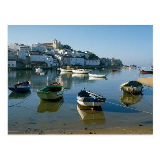 Fishing Village of Ferragudo, Algarve, Portugal Postcard