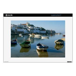 "Fishing Village of Ferragudo, Algarve, Portugal Skin For 15"" Laptop"