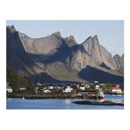 Fishing village Reine, Moskenesoy island, Post Card