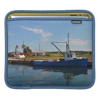 Fishing Village, Victoria in P.E.I. Canada iPad Sleeve