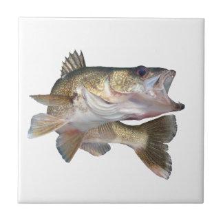 Fishing Walleye Ceramic Tile