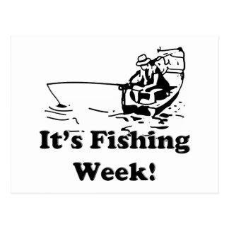 Fishing Week Postcard