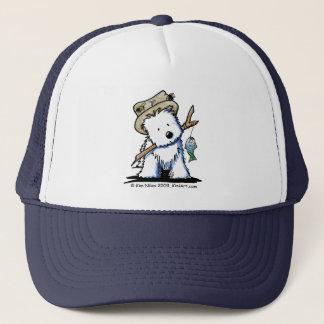 Fishing Westie Hat