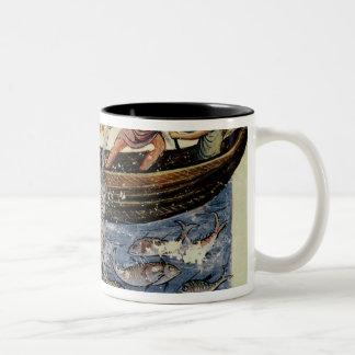 Fishing with a Net Two-Tone Coffee Mug