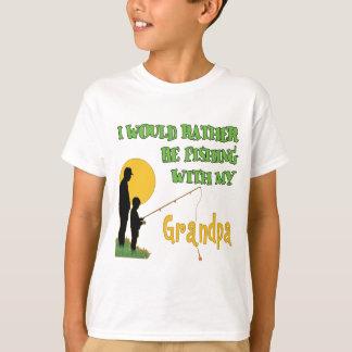 Fishing With Grandpa T-Shirt