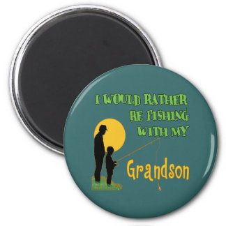 Fishing With Grandson Magnets