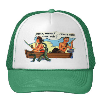 FISHING WITH MELVIN ! TRUCKER HAT