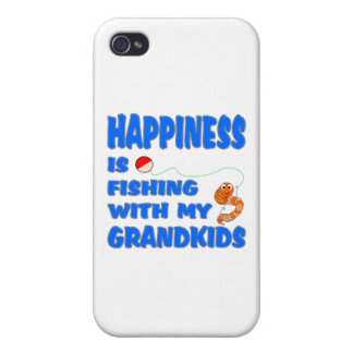Fishing With My Grandkids iPhone 4 Cover