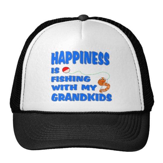 Fishing With My Grandkids Trucker Hat