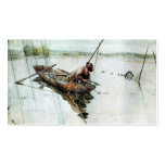 Fishing with Nets 1905 Double-Sided Standard Business Cards (Pack Of 100)