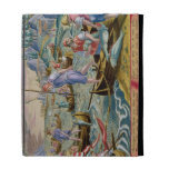 Fishing with Nets and Tridents in the Bay of Naple iPad Folio Cases