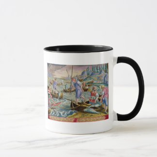 Fishing with Nets and Tridents in the Bay of Naple Mug