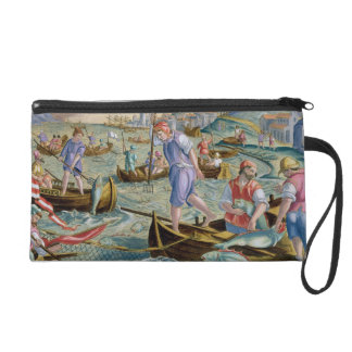 Fishing with Nets and Tridents in the Bay of Naple Wristlet