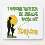 Fishing With Stepson Mouse Pad