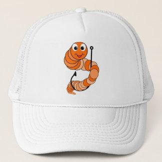 Fishing Worm Trucker Hat