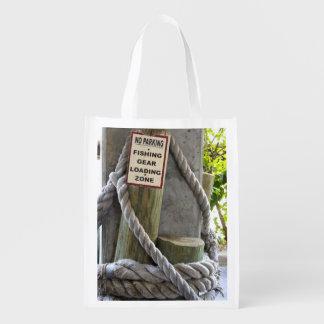 Fishing Zone Reusable Grocery Bag