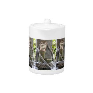 Fishing Zone Teapot
