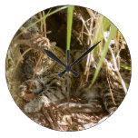 FishingCat004 Reloj De Pared