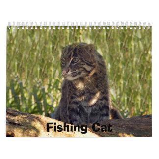 FishingCat008, Fishing Cat Calendar