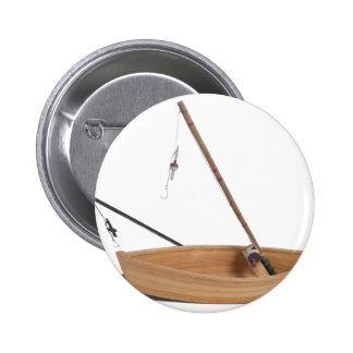 FishingPoleSittingInWoodenBoat050314.png 2 Inch Round Button