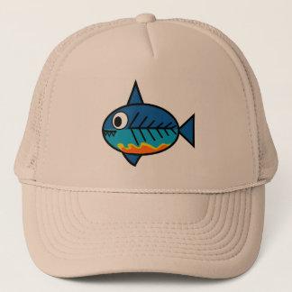 FishingTruths hat featuring Hugo.