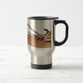 FishingWoodenBoatRodReel050314.png Travel Mug