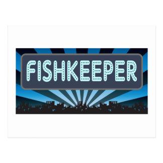 Fishkeeper Marquee Postcard