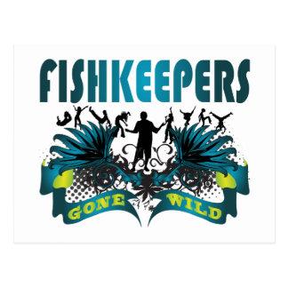 Fishkeepers ido salvaje tarjetas postales