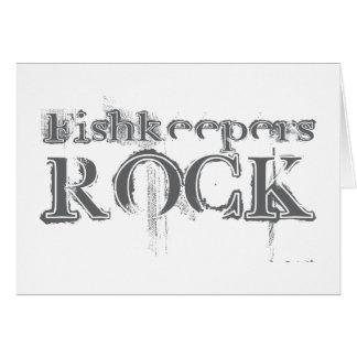 Fishkeepers Rock Card