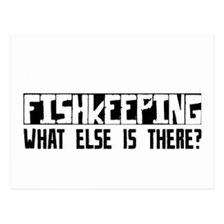 ¿Fishkeeping qué más está allí? Tarjeta Postal