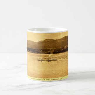 Fishkill Mountains, Newburgh Bay, New York c1915 v Coffee Mug