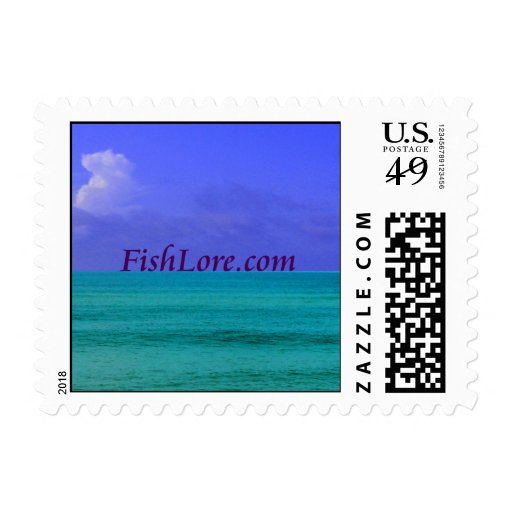 FishLore.com First Class Postage Stamps