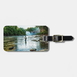 Fishman of the Genesee Luggage Tag