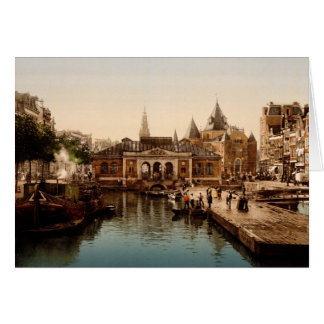 Fishmarket and bourse  Amsterdam Cards