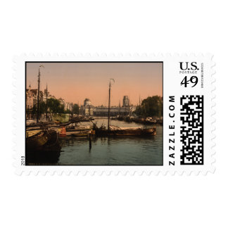 Fishmarket in Rotterdam Postage Stamps