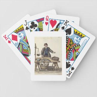 Fishmonger, Venetian (manuscript) Bicycle Playing Cards