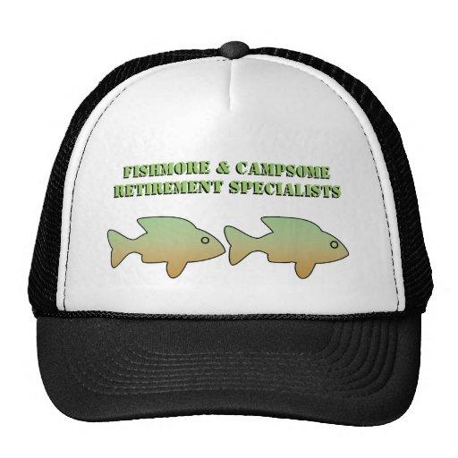 Fishmore y Campsome, especialistas del retiro, cas Gorra