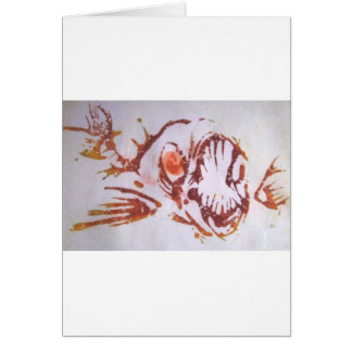 Fishmouth Greeting Cards