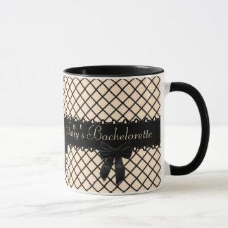 Fishnet Garter Personalized Mug