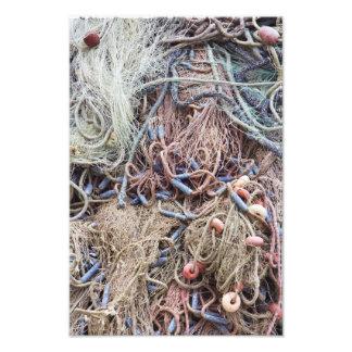 Fishnet Photo Print