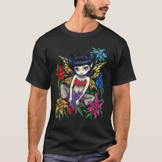 Fishnets And Flowers goth fairy Shirt