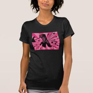 Fishnets and Hot Pink Shirts