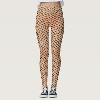 Fishnets and Skin Texture Women's Leggings